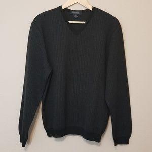 Brooks Brothers Merino Wool Herringbone Sweater